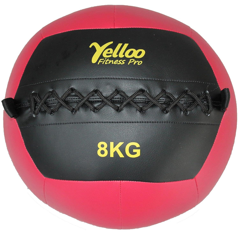 Yelloo WB1001 - Balón medicinal o Wall Ball para crossfit y ...