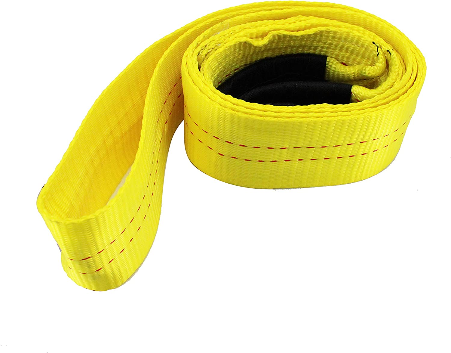 R 8 Foot Tree Saver 3 Inch Tow Strap 30,000 Pound Capacity HFS Winch Strap