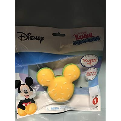 Kawaii Just Play Squeezies Mickey Burger, Multicolor: Toys & Games