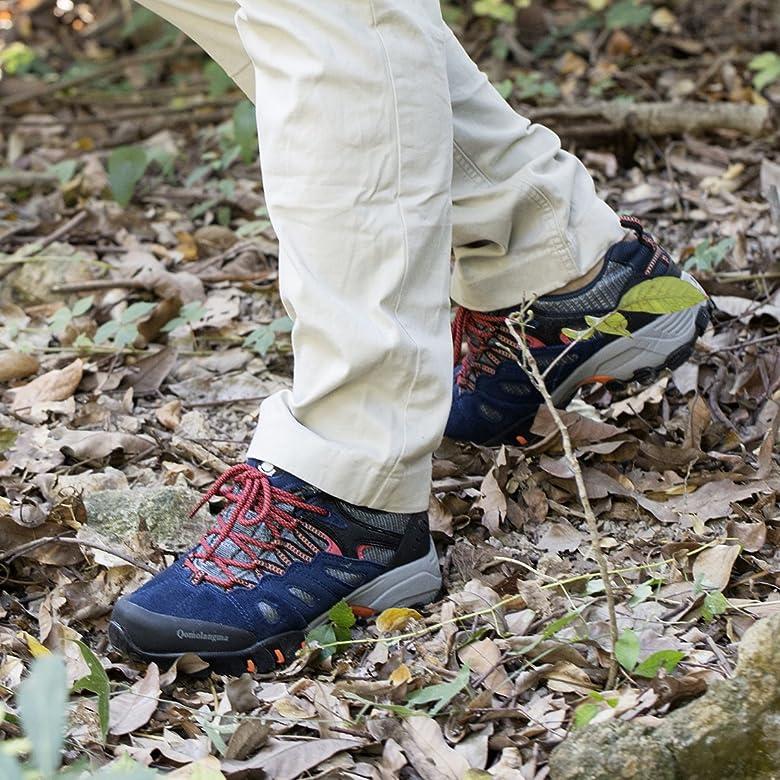 Suede Hiking Shoes Walking Sneakers