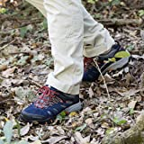 QOMOLANGMA Women's Suede Slip-Resistant Hiking