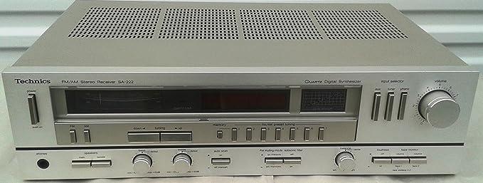 Review Vintage Technics SA-222 FM/AM