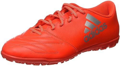 adidas X 16.3 in Leather Scarpe da Calcio Uomo Arancione Solar Red/Silver Met