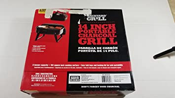 Backyard Grill 14 Inch Portable Charcoal Grill