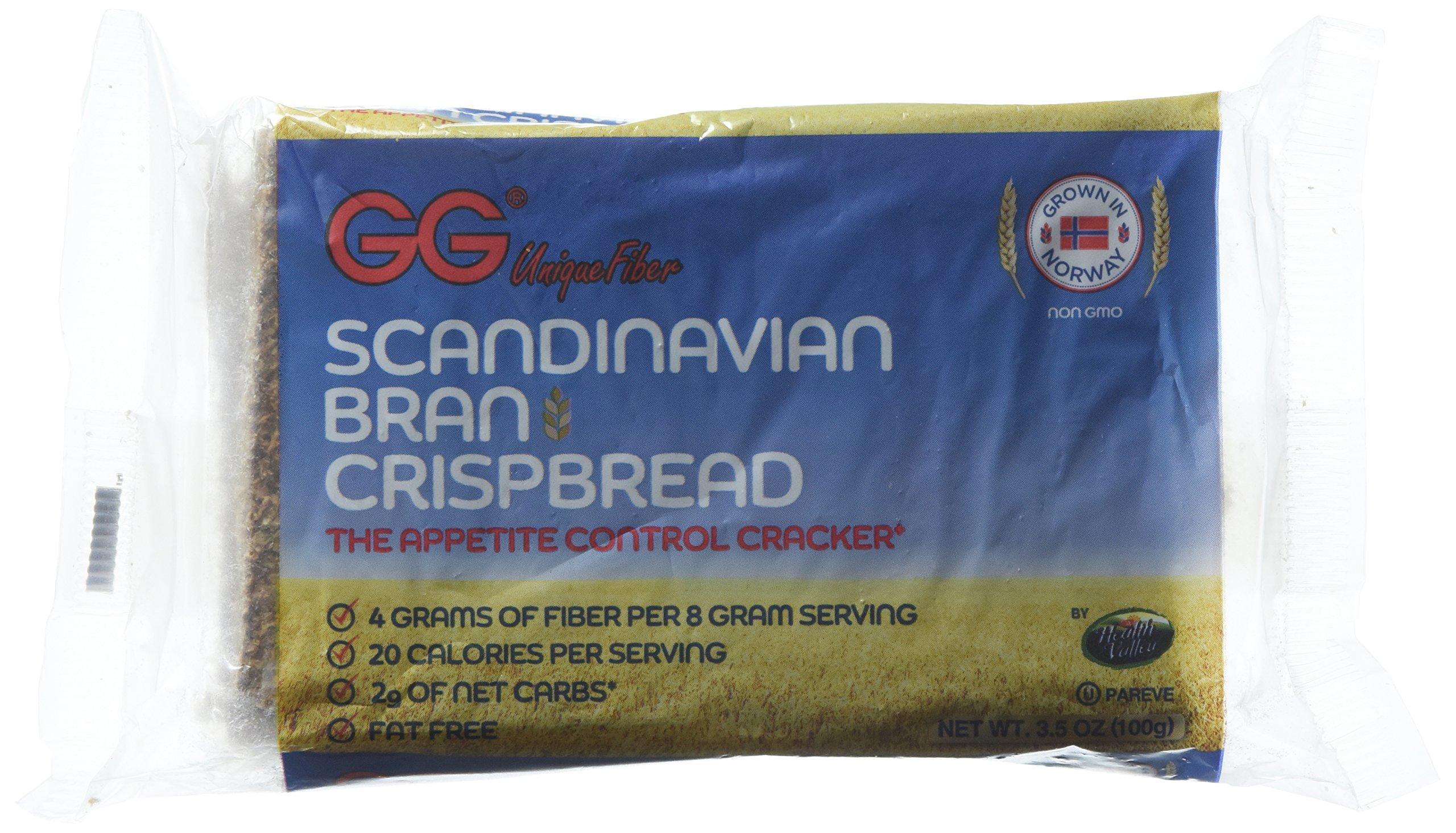 Health Valley Crispbread Gg Bran, 3.5 Ounce, Pack of 10