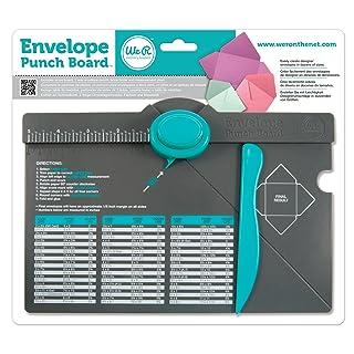 We R Memory Keepers WR71277-0 - Kit de medición para sobres (con perforador, carpeta hueso y tabla de medidas)