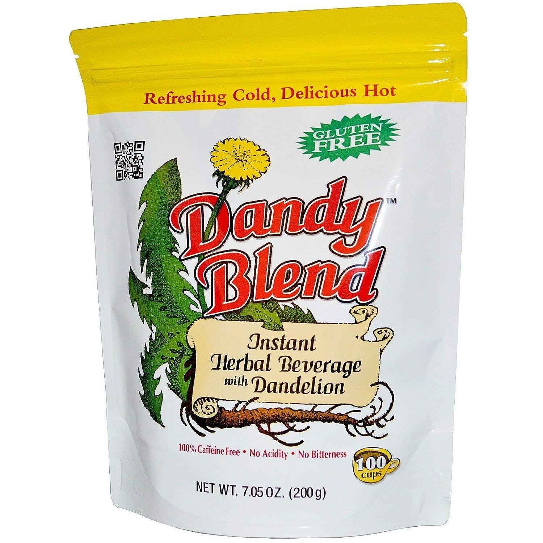 Dandy Blend, (2 Pack) Instant Herbal Beverage with Dandelion, Caffeine Free, 7.05 oz (200 g)