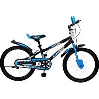 MAD MAXX BIKES BMX Kid's Road Cycle, 20 inches Matte Finish Black for 7 to 09 Years Child