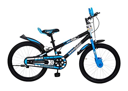 MAD MAXX BIKES Steel Kid's Road Cycle, 20 inches Matte Finish Black for 7 to 10 Years Child