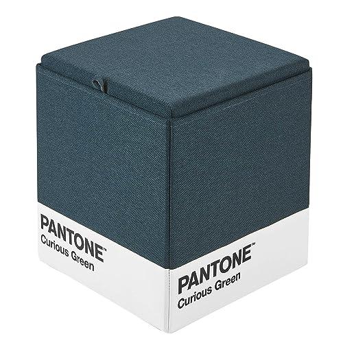 Kvell x Pantone Storage Ottoman, Curious Green
