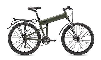 """2015 Montague Paratrooper 18 """"mate Cammy Verde plegable de 24 velocidades para bicicleta de"""