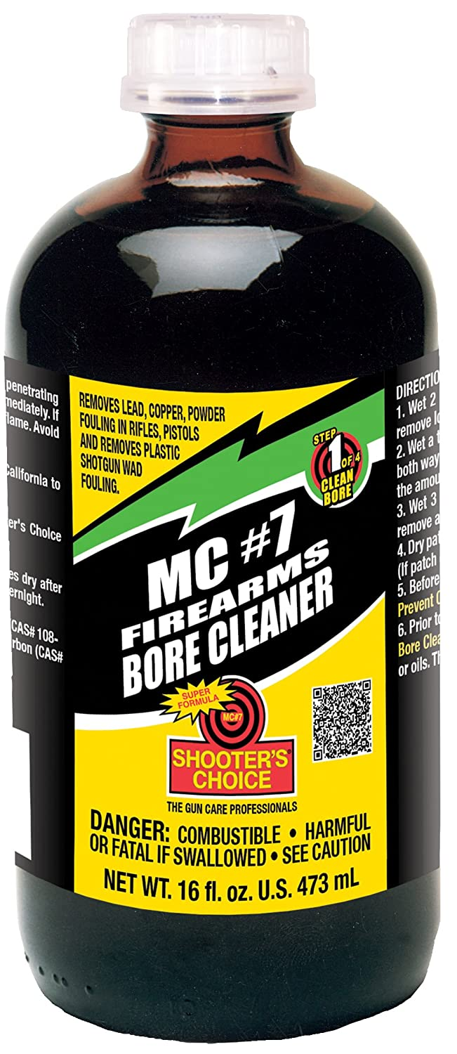 Shooter's Choice Mc#7 Bore Cleaner & Conditioner Glass Bottle, 16oz