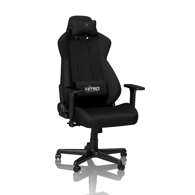 Nitro Stealth Bürostuhl Stoffbezug S300 Gamingstuhl Schreibtischstuhl Concepts Blackschwarz nPX8k0wO