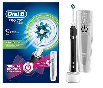 Amazon.com: Oral-B Pro 750 CrossAction Spazzolino Elettrico ...