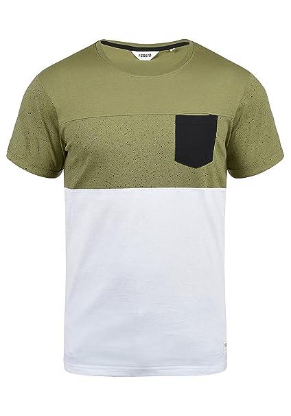 716f6e1fbd !Solid Kold Maglietta A Maniche Corte T-Shirt con Stampa da Uomo con  Girocollo in Cotone 100%: Amazon.it: Abbigliamento