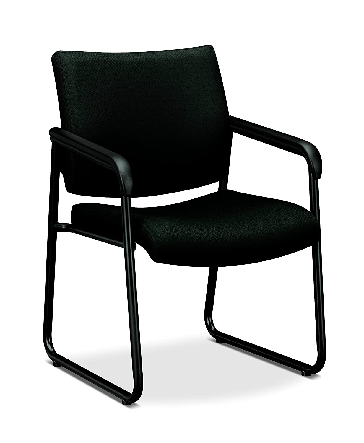 Basyx by Hon Guest Chair, Black The HON Company HVL443.VC10