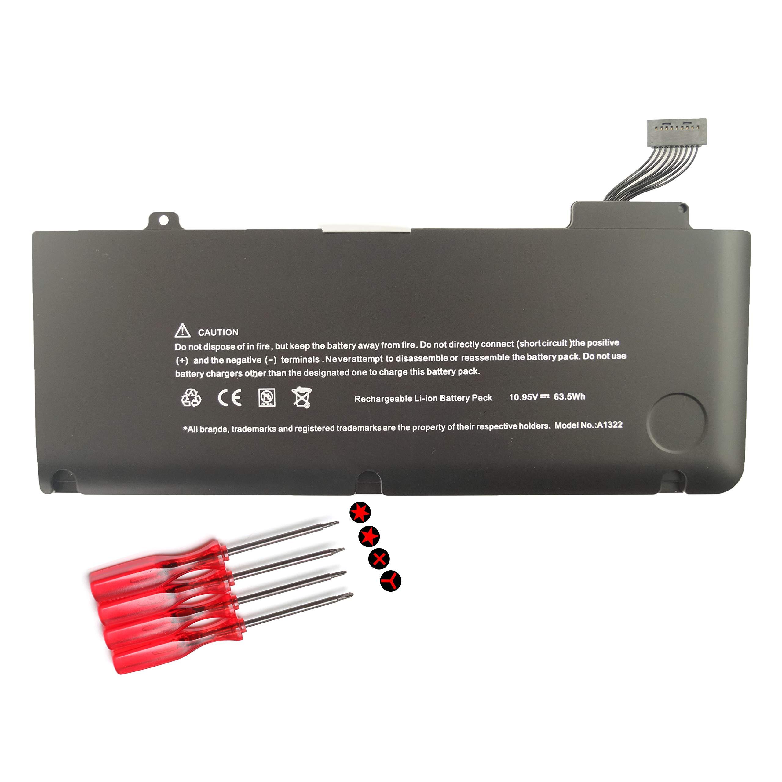 Bateria para A1322 A1278 Apple MacBook Pro 13 inch 2012 2011 2010 2009 MB990LL/A MD313LL/A MB991LL/A MC374LL/A MC375LL/A