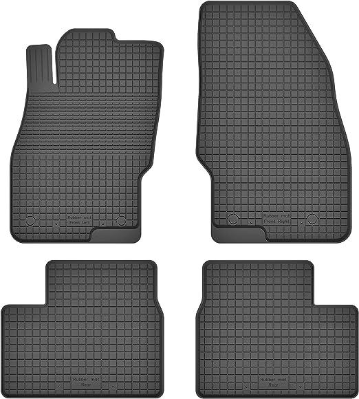 Ko Rubbermat Gummimatten Fußmatten 1 5 Cm Rand Geeignet Zur Opel Corsa D E 2006 2019 Ideal Angepasst 4 Teile Ein Set Auto