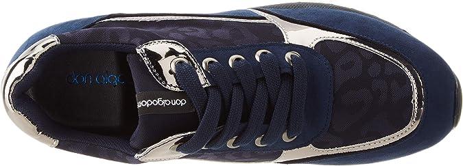 DON ALGODON S302, Zapatillas para Mujer, Marino, 41 EU: Amazon.es: Zapatos y complementos