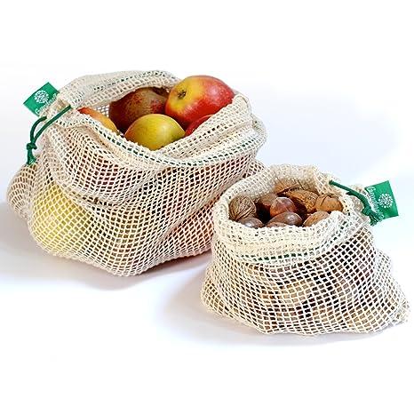 Reutilizables de la fruta - y las verduras de bolsa de Bio ...