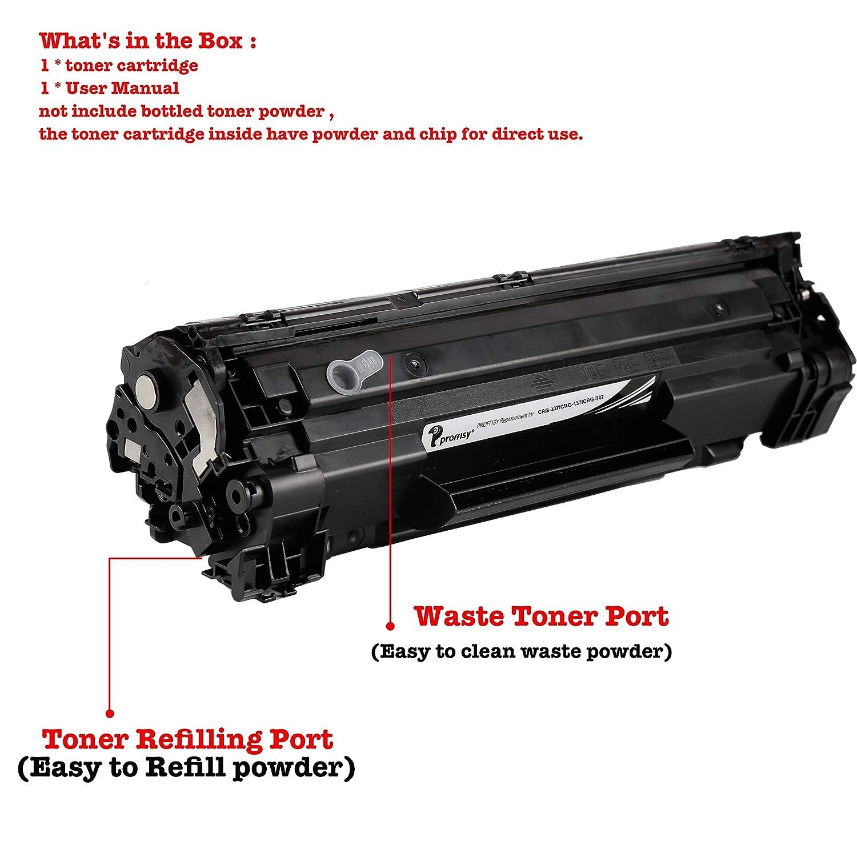 proffisy Easy Refill 737 Toner Cartridge for Canon: Amazon.in: Electronics