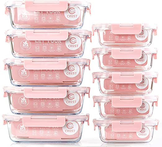 Heavy-duty Microwave Clear Plastic Food Container /& Snap on Lids select quantity