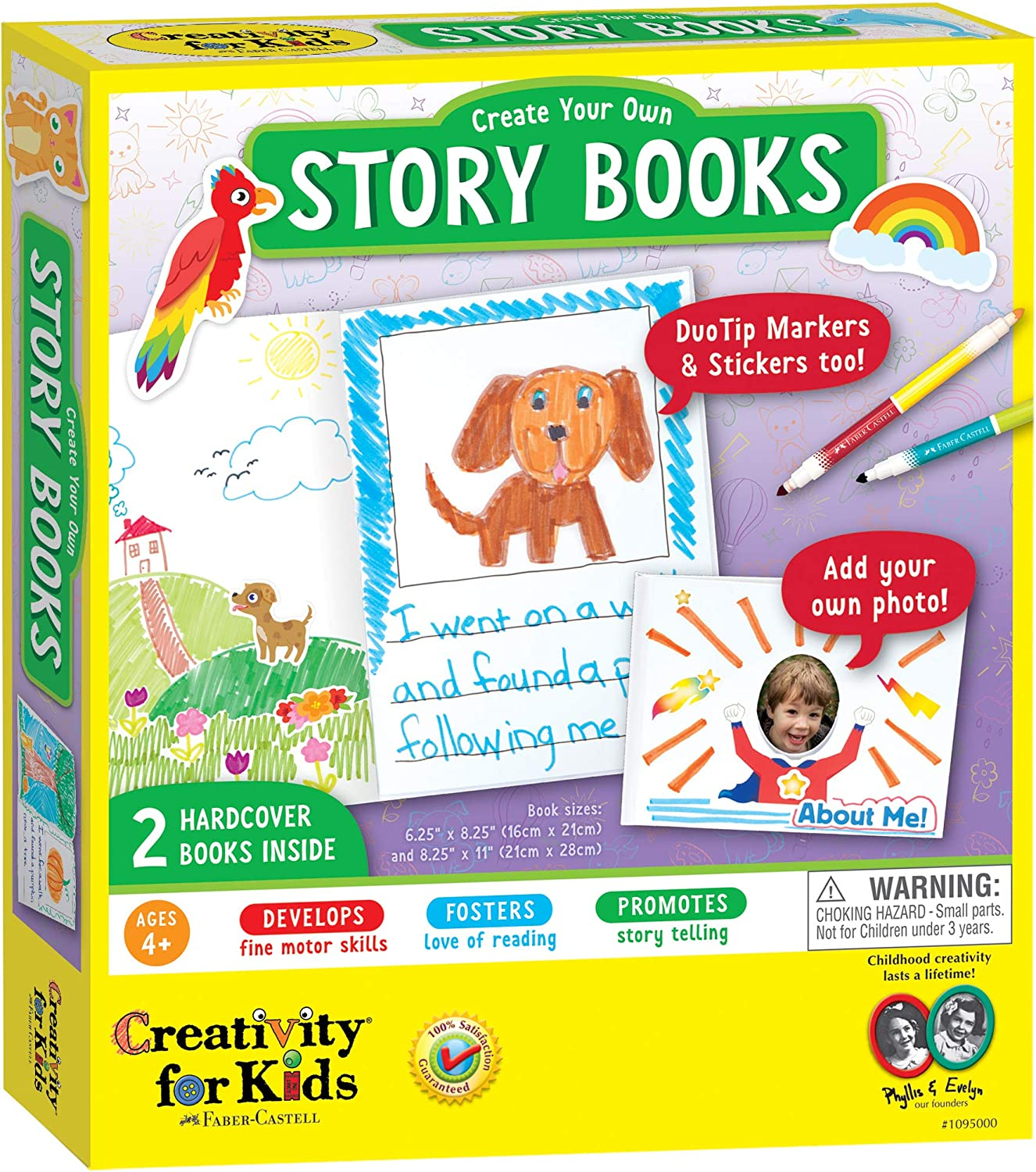 Creativity For Kids Create Your Own Books 2 Blank Hardcover Books Open Ended Crafting 1095000 Toys Games