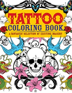 Tattoo Coloring Book: Oliver Munden, Jo Waterhouse: 9781780670119 ...