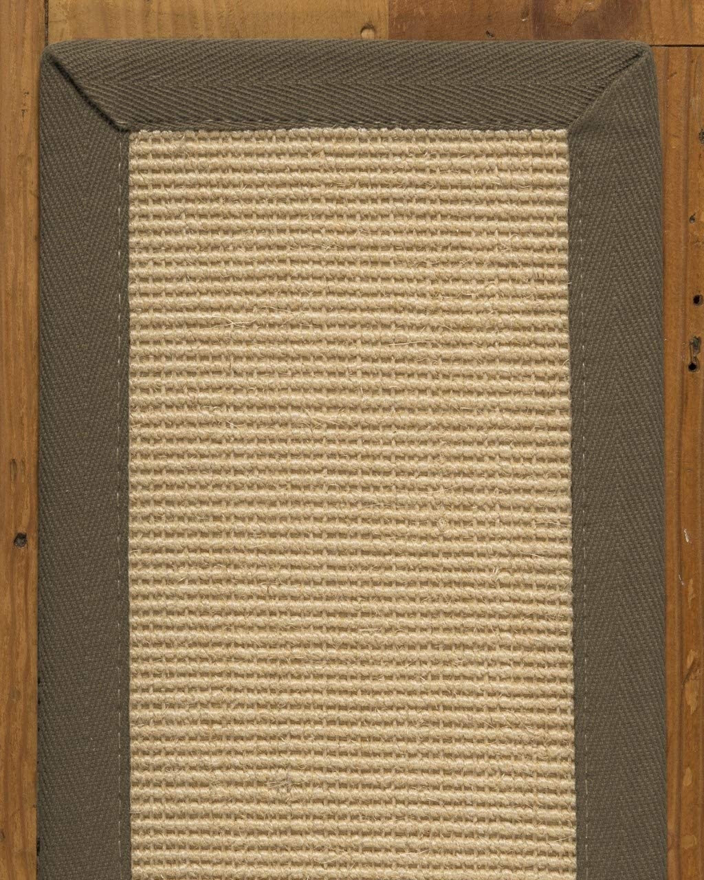 Natural Area Rugs Cream Deco DIY Pet Friendly Handmade Sisal Carpet Stair Treads Rugs Safety Slip Resistant