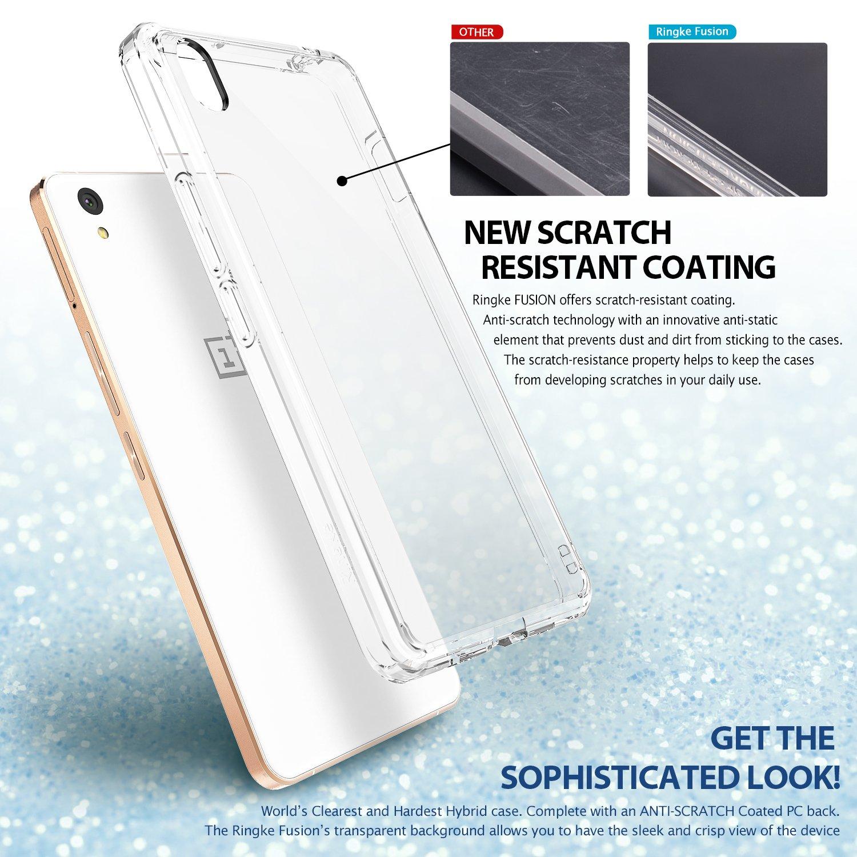 ePlus X Case Ringke FUSION [CRYSTAL VIEW] Shock Absorption TPU