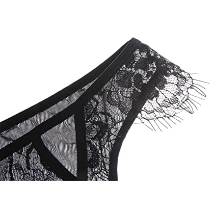 3b374783d0379 ... The Victory of Cupid Women 2-Pc Floral Lace Underwear Lingerie Straps  Bralette And Panty ...