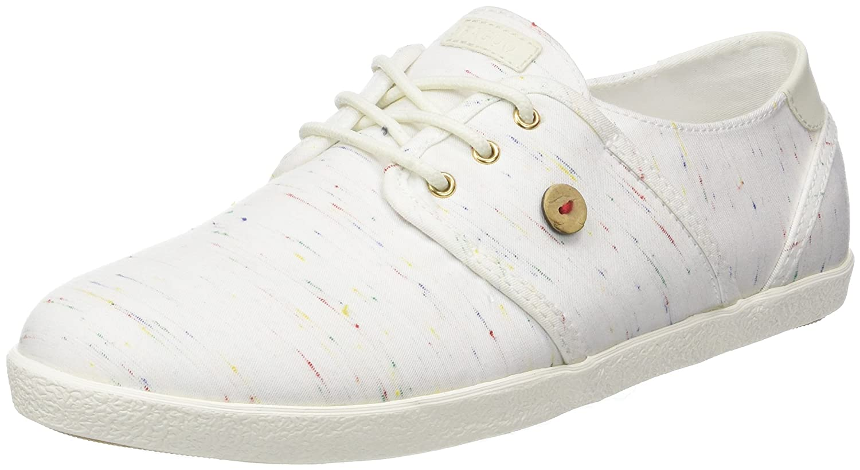 Faguo Cypress, Zapatillas para Mujer 38 EU|Blanco (Whi S1810)