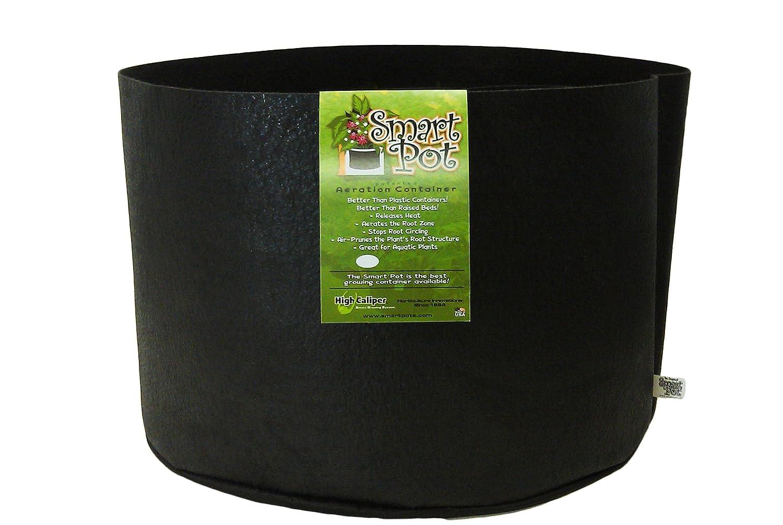Smart Pots 10020Smart Pot Soft-Sided Container, Black,20-Gallon