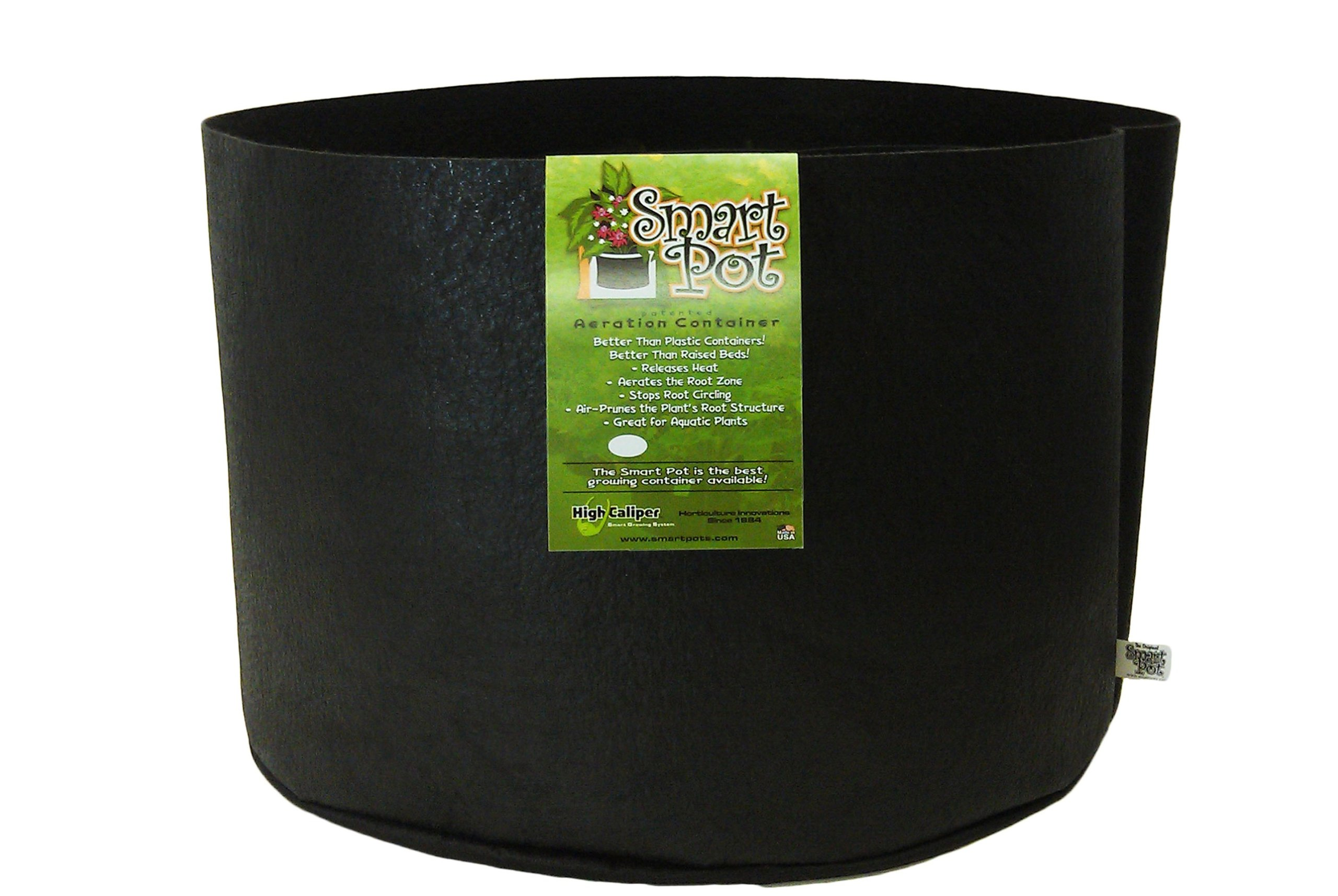 Smart Pots 10020 Soft-Sided Container, Black,20-Gallon by Smart Pots