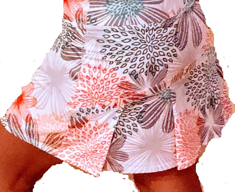Running Skort Springcreek Gear Multi Color Print Tennis Skirt