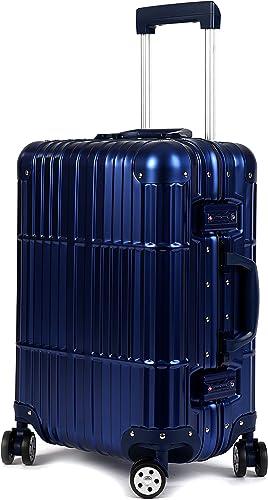 All Aluminum Luxury Hard Case 20 Carry-On Luggage