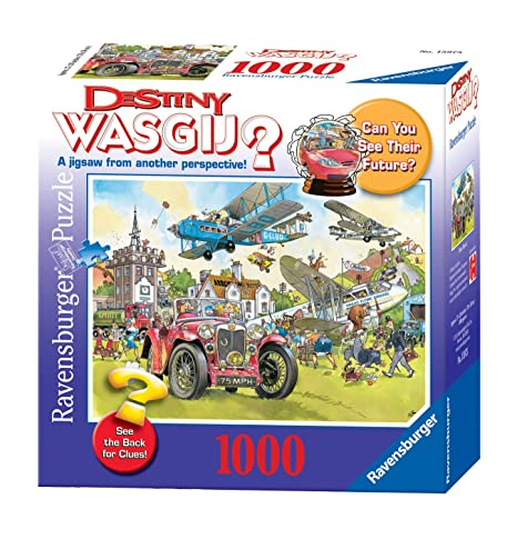 wasgij destiny time travel 1000 pieces puzzle