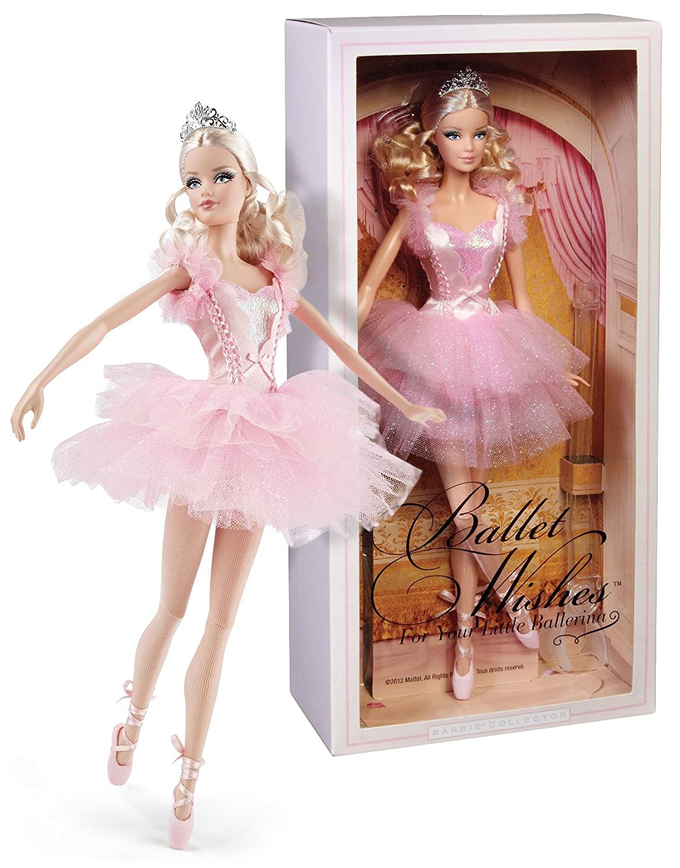 Barbie dgw35 ballet wishes barbie doll - Barbie ballerine ...