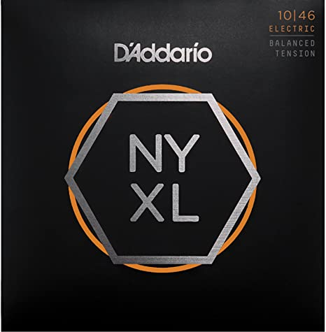 Cuerdas para Guitarra Eléctrica DAddario NYXL1046BT Nickel Wound, Balanced Tension, 10-