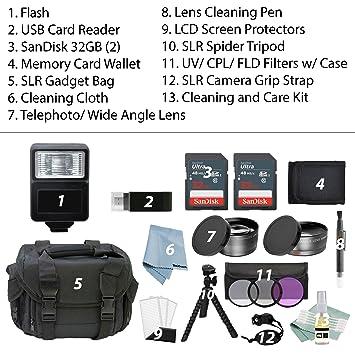 Amazon.com: Canon EOS Rebel SL2 Bundle + Kit de accesorios ...