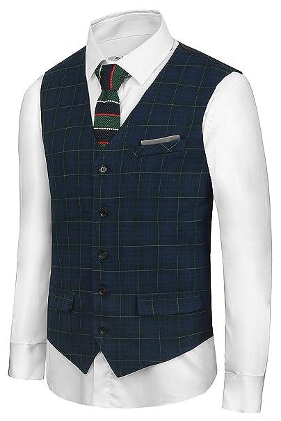 Amazon.com: Hanayome para hombre estilo británico ocio traje ...