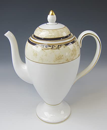 Amazon Wedgwood China Cornucopia Coffee Pot With Lid 5c