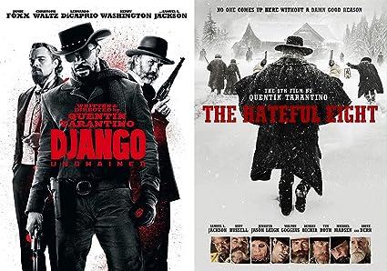Amazon Com The Hateful Eight Django Western Action Dvd Quentin Tarantino Unchained Collection Kurt Russell Leonardo Dicaprio Quentin Tarantino Movies Tv