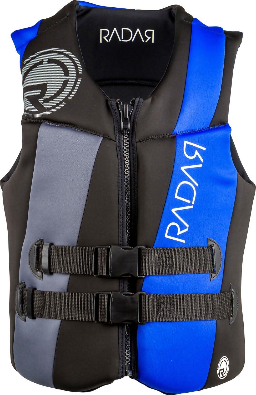 レーダーEncore CGA Wakeboard Vest Mens 黒/銀/青 XL