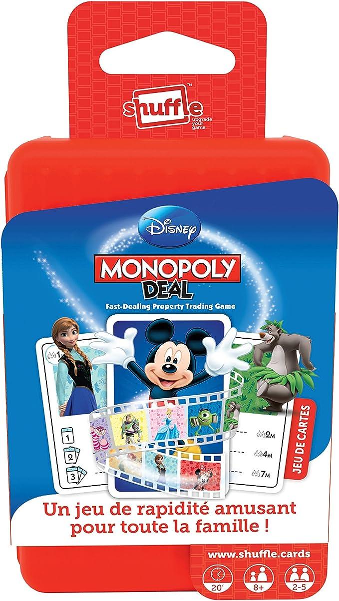 Carta Mundi A1502469 - Juego de Cartas Monopoly, diseño de Disney: Amazon.es: Juguetes y juegos