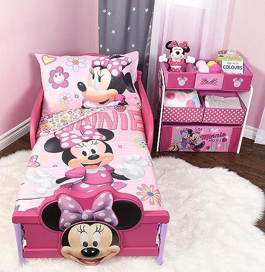 Minnie mouse juego de cama de microfibra Juego de sábanas infantil ...