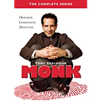 Universal Studios Home Entert Monk Complete Series on DVD