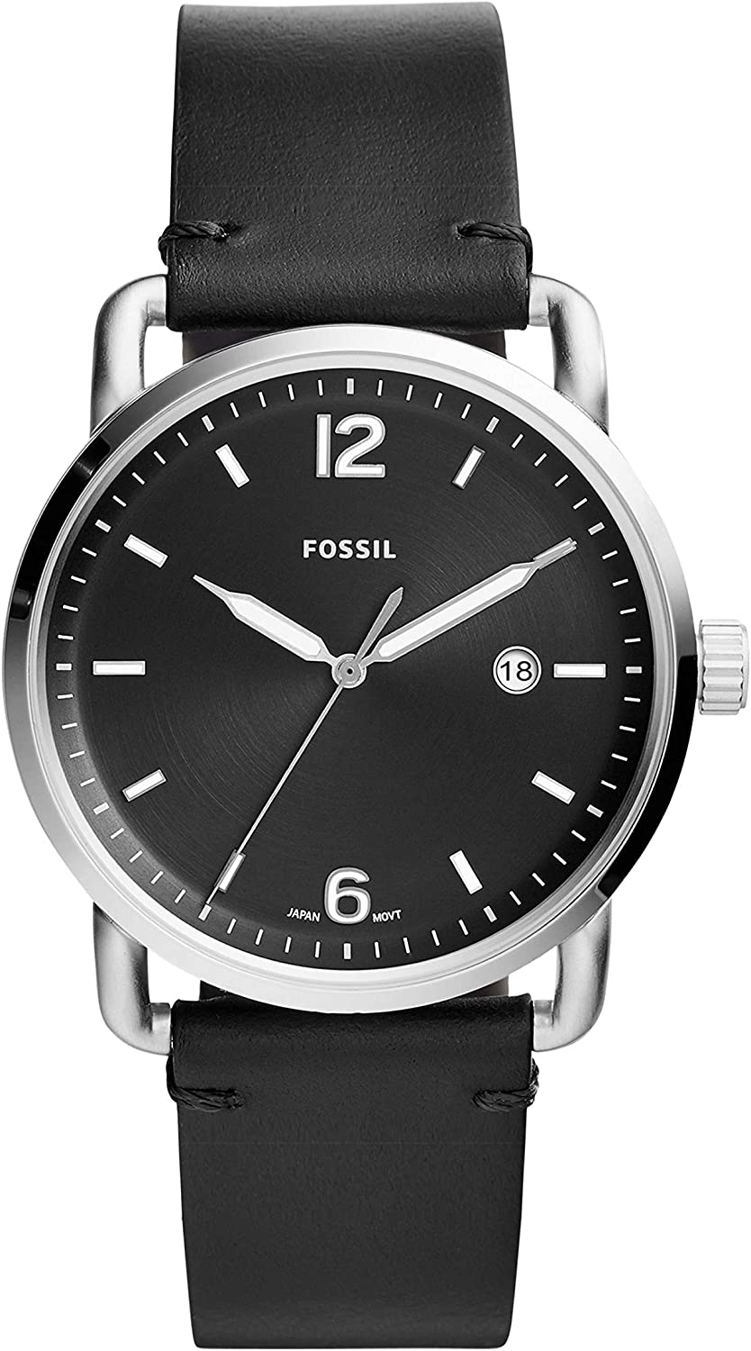 Fossil Men s The Commuter 3H Date – FS5406