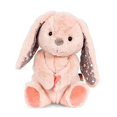 B. Toys – Happy Hues – Butterscotch Bunny – Soft & Cuddly Plush Bunny – Huggable Stuffed Animal Rabbit Toy – Washable – Babies, Toddlers, Kids: Toys & Games