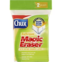 Chux Magic Eraser Bathroom Cleaning Pad, 2 count